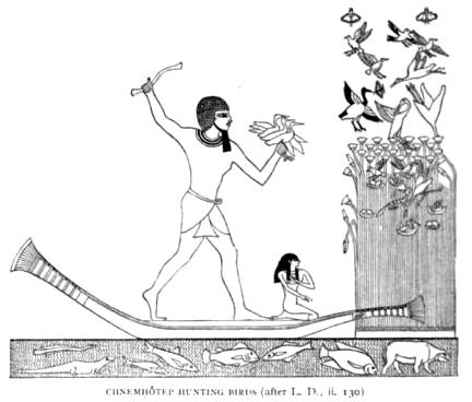 Chnemhôtep Hunting Birds