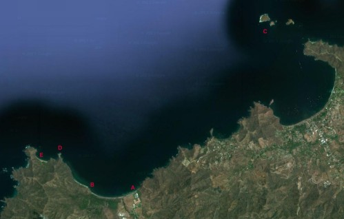 Satellite View of the Guanacaste Area