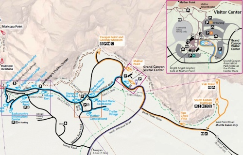 Grand Canyon Bus Routes