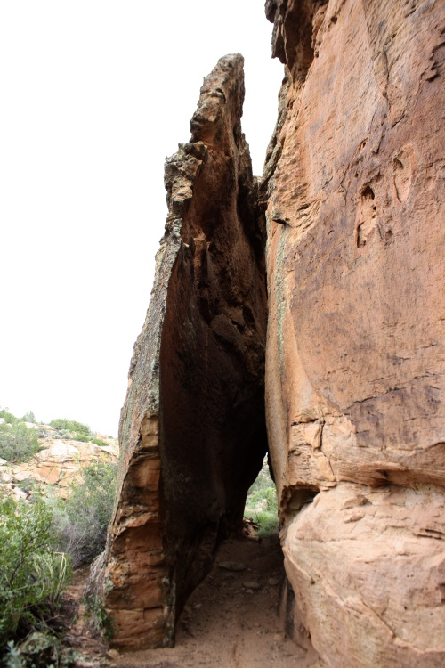 Separated Sandstone Slot